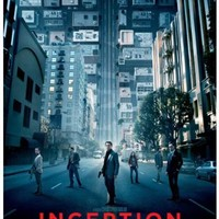 (11x17) Inception - Distorted Cityscape Leonardo DiCaprio Movie Poster