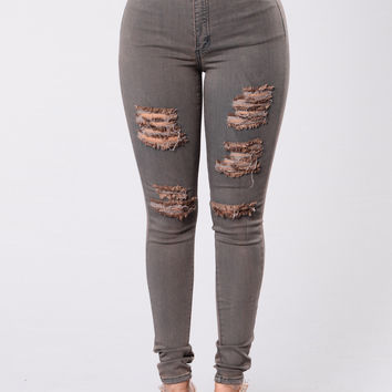 Gust Of Wind Jeans - Chocolate Rust