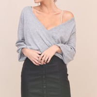 Crossing Over Sweater | SHOPLUNAB