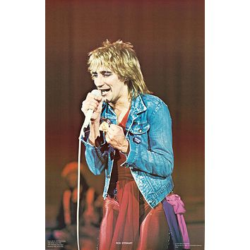 """Poster: Rod Stewart - On Stage 1978 Poster (22""""x34"""")"""