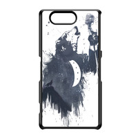 Wolf Song 3 Black Hard Plastic Case for Sony Xperia Z3 Mini by Balazs Solti