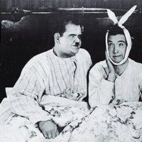 """Laurel and Hardy Poster as seen in Joey and Chandler's Apartment on Friends TV Show (36"""" x 24"""")"""