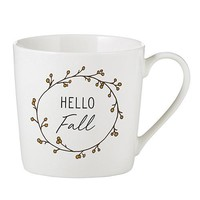 Hello Fall - Cafe Mug