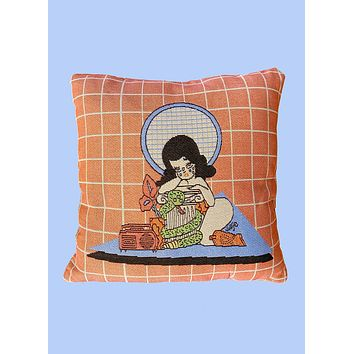 Play That Song Throw Pillow