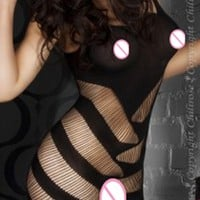 Sexy Lingerie hot Bodysuit Sexy Costumes Intimates Women Bodystocking open crotch sex products  erotic lingerie Chemises qq047