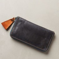 Old Town Continental Wallet by Holding Horses Dark Turquoise One Size Clutches