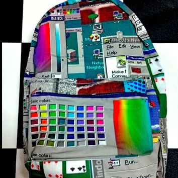 SWEET LORD O'MIGHTY! WINDOWS 95 BACKPACK