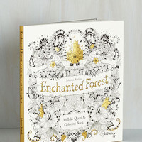 Rustic The Art of Fleur Coloring Book by Chronicle Books from ModCloth