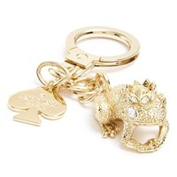 Women's kate spade new york 'kiss a prince' frog keychain - Metallic