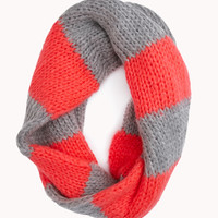 Cold Days Striped Infinity Scarf