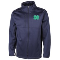 Notre Dame Fighting Irish Tactical Fleece Full Zip Jacket – Navy Blue