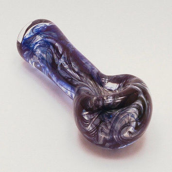 Inside Out Transparent Glass Pipe