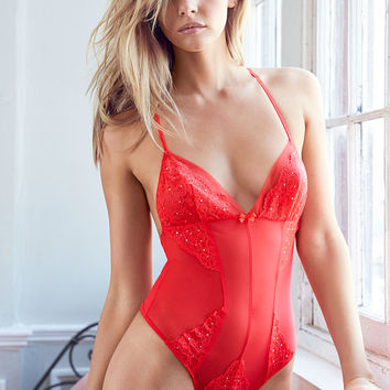 Tulle & Lace Teddy - Dream Angels - Victoria's Secret
