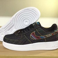 Nike Air Force 1 LV8 Black For Women Men Running Sport Casual Shoes Sneakers
