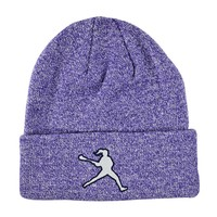 Purple Laxgirl Knit Hat | Lacrosse Unlimited