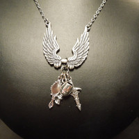 The Mortal Instruments Inspired Charm Necklace