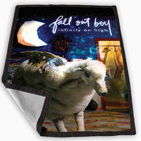 Fall out boy infinity on high Album cover Blanket for Kids Blanket, Fleece Blanket Cute and Awesome Blanket for your bedding, Blanket fleece *