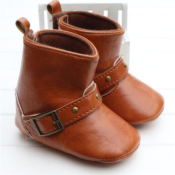 Baby Cowboy/Cowgirl  Leather Boots