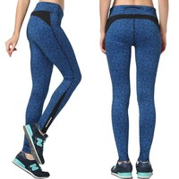 Yoga Pants Casual Stretch Quick Dry Gym Cropped Pants [6572465415]