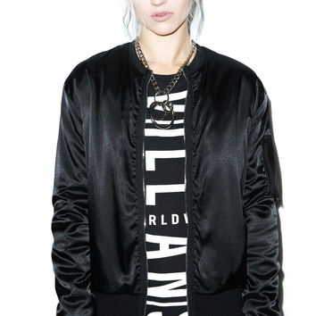 EPTM. Home Run Satin Bomber Jacket