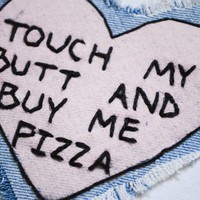 Buy Me Pizza Patch