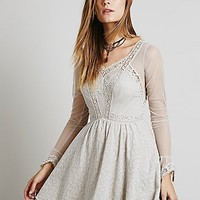 Free People Womens Long Sleeved Victoria Mini