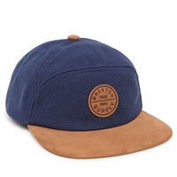 Brixton Oath 7 Panel Hat - Mens Backpack - Navy/Brown - One