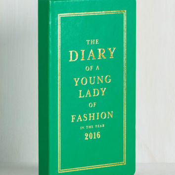 On a Bright Schedule 2016 Planner by kate spade new york from ModCloth