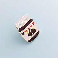 Nutella Jar Enamel Pin