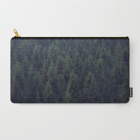 Deep In The Woods Carry-All Pouch by Tordis Kayma | Society6