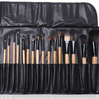 Professional 24-pcs Black Make-up Brush Make-up Tools Tools Make-up Brush Set [6048692929]