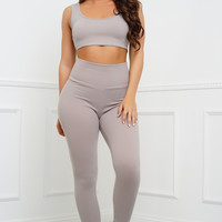 Sinclair Leggings - Taupe
