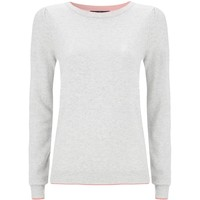 Juicy Couture Puff Shoulder Cashmere Sweater | Harrods