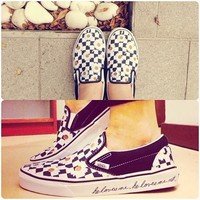 Love Me, Love Me Not Slip-On, Girls | Shop Girls Prints at Vans