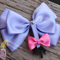 Eeyore hair bow Winnie the Pooh hair bow disney inspired bow girls cowboy cute toddler