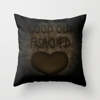 Good old Fashioned Throw Pillow by Jinzha Bloodrose | Society6