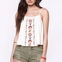 Roxy Embroidered Swing Tank - Womens Tees