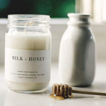 Milk + Honey Soy Candle