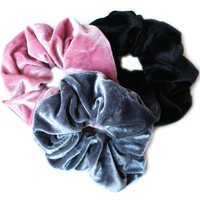 Must Have Velvet Scrunchies