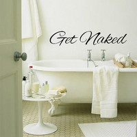 WELCOME 2013 SALE  Until 1/1  Get Naked Bathroom by 4HeartsDecor