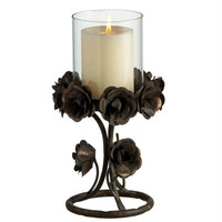 2 Candle Holders - Holds (1) Pillar Candle Which Is Not Included