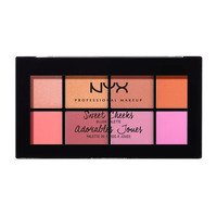 Sweet Cheeks Blush Palette | NYX Cosmetics