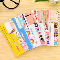Cartoon sticky Fresh Korea Stationery Notes Kawaii Memo Pad Bookmark Sticker Post It Sticky Notes Index Tab Free shipping