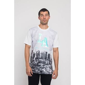 Iridescent Los Angeles City T-Shirt