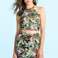 Tropic Chic Matching Top