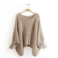 Oversized Relaxed Fit Sweater for Girls