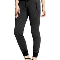 Women's Color-Block Skinny Sweatpants