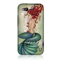 Head Case Marina Sea Mermaid Design Protective Back Case Cover for HTC Rhyme