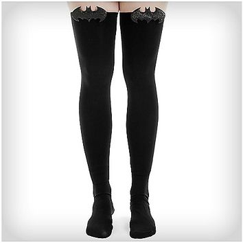 Batman Thigh High Tights - Spencer's