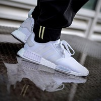 Best Sale Adidas NMD R1 All White
